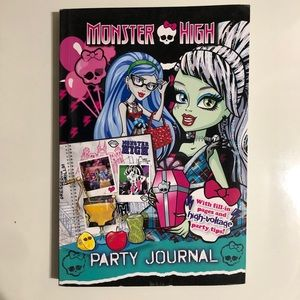 Monster High Party Journal Book Activity